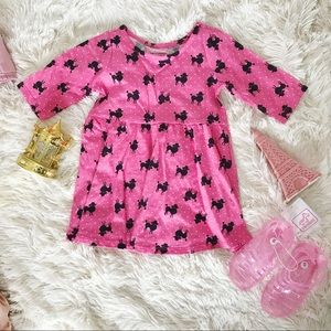 The Children's Place • Pink Poodle Dress + Sandals